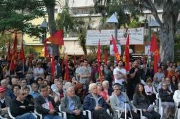 Συγκέντρωση ΚΚΕ - Λαϊκής Συσπείρωσης Ζωγράφου